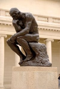 Rodin, The Thinker Snagged from Google Images