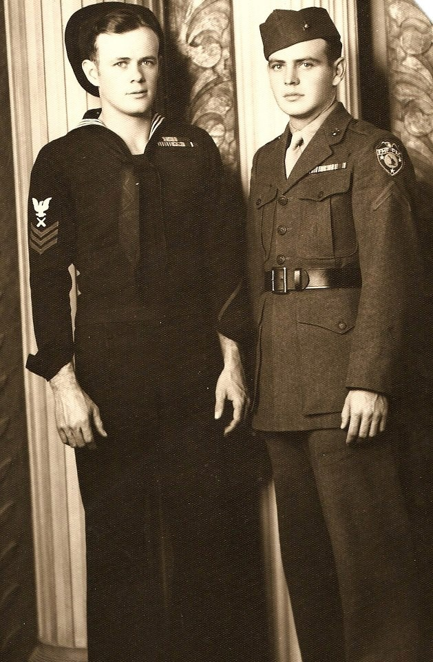 Dad and Uncle Gene