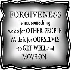 if you do not forgive you will not be forgiven
